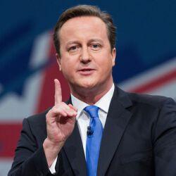 Пресс-конференция Дэвида Кэмерона в ОУ Великобритании