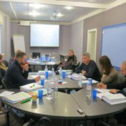 Ноябрь – первые занятия новых групп программы МВА